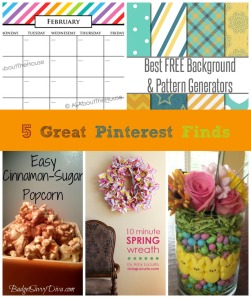 5 Great Pinterest Finds
