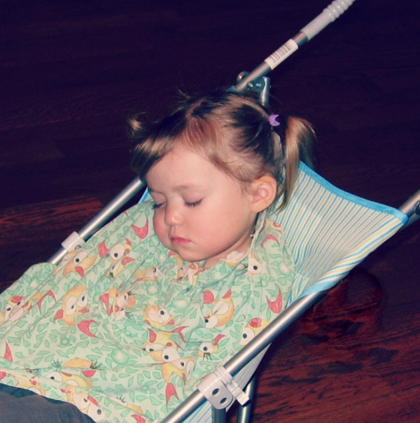 Kid 2 sleeping