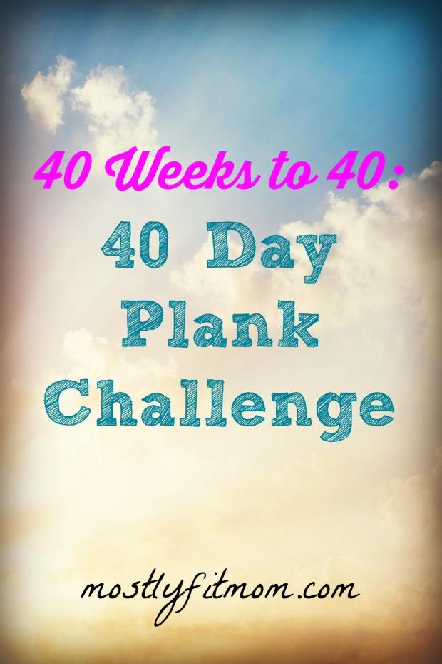 40 Day Plank Challenge