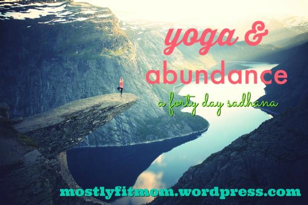 yoga and abundance